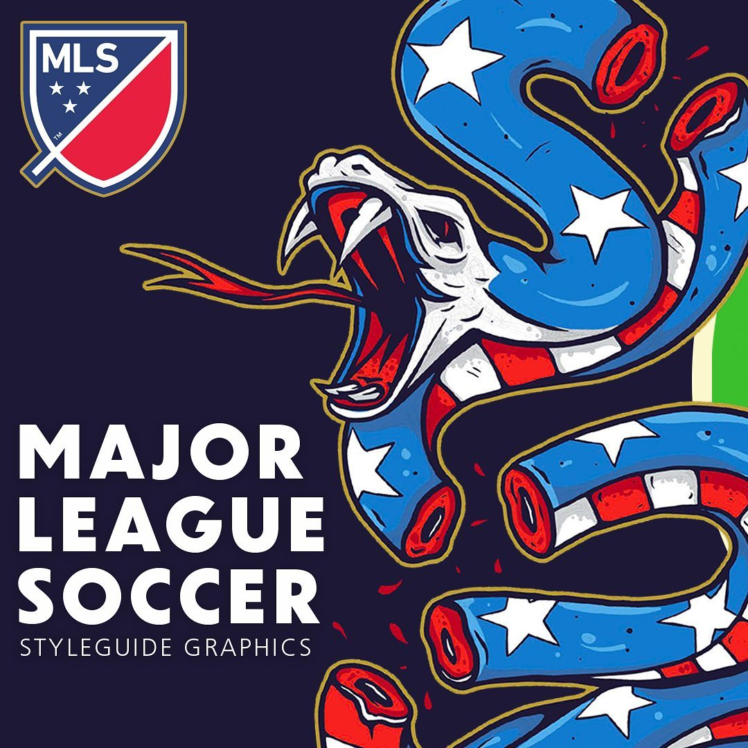 In celebration of the 4th July and St Patrick's Day holidays we created a bespoke look for each @mls clubs' logo and graphic suite. To make these 'special edition' brand designs sing, we had to get to the core of what makes each club unique so that we could create assets that fans would relate to.  We tapped into fan favourites, statements, history, chants, rivalries and whatever the supporters are passionate about when it comes to their club. This resulted in exclusive designs that were right on the money for the league and reflected the individual 'team stories'.  We're big sports fans so this piece of work was close to our hearts. Our team were passionate about making sure every one of the league's 26 clubs was represented in a way they could be proud of.  To view more, click the link in our bio 👆⚽️ #mls #soccer #design