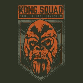 It's only fair that today we join the Kong Squad 🦍 after being all Team Godzilla yesterday! Who in the US will be watching Godzilla Vs Kong today? One more sleep for us in the UK!  Designs created by us for @legendary  #godzillavskong #kong #film