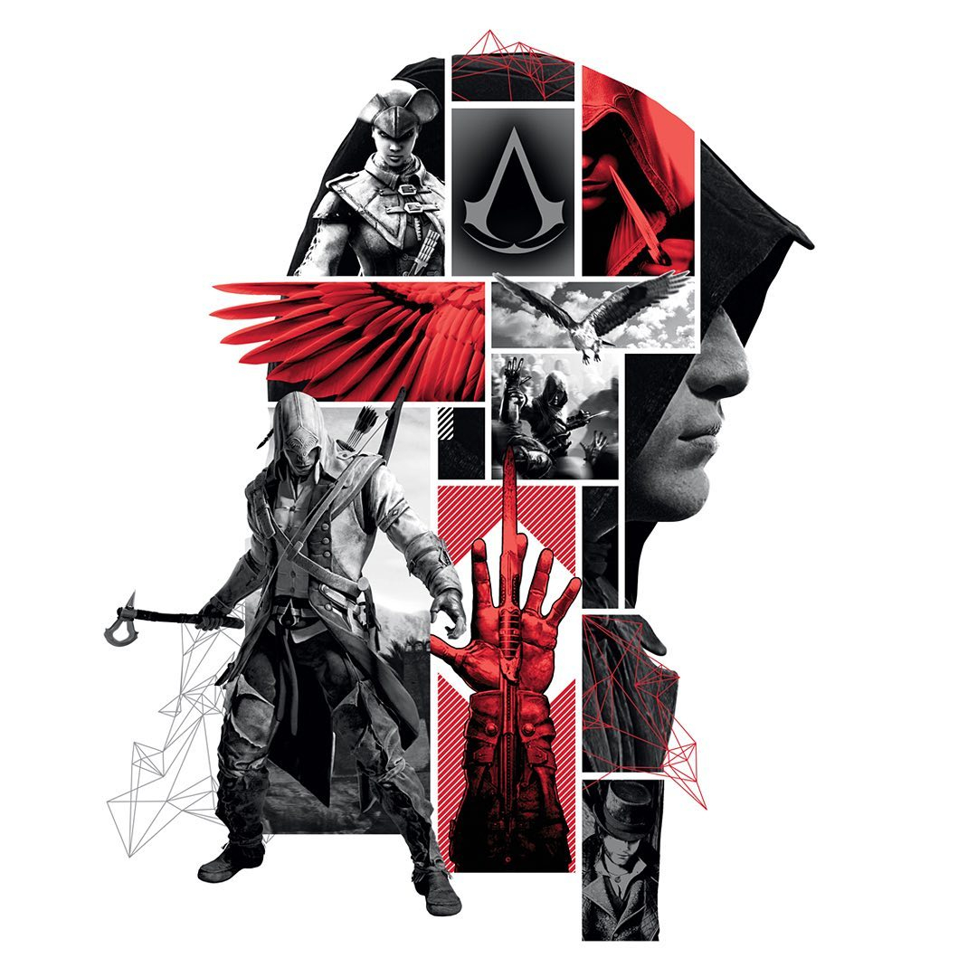That's us ⚔️ #graphicdesign #designagency #assassinscreed