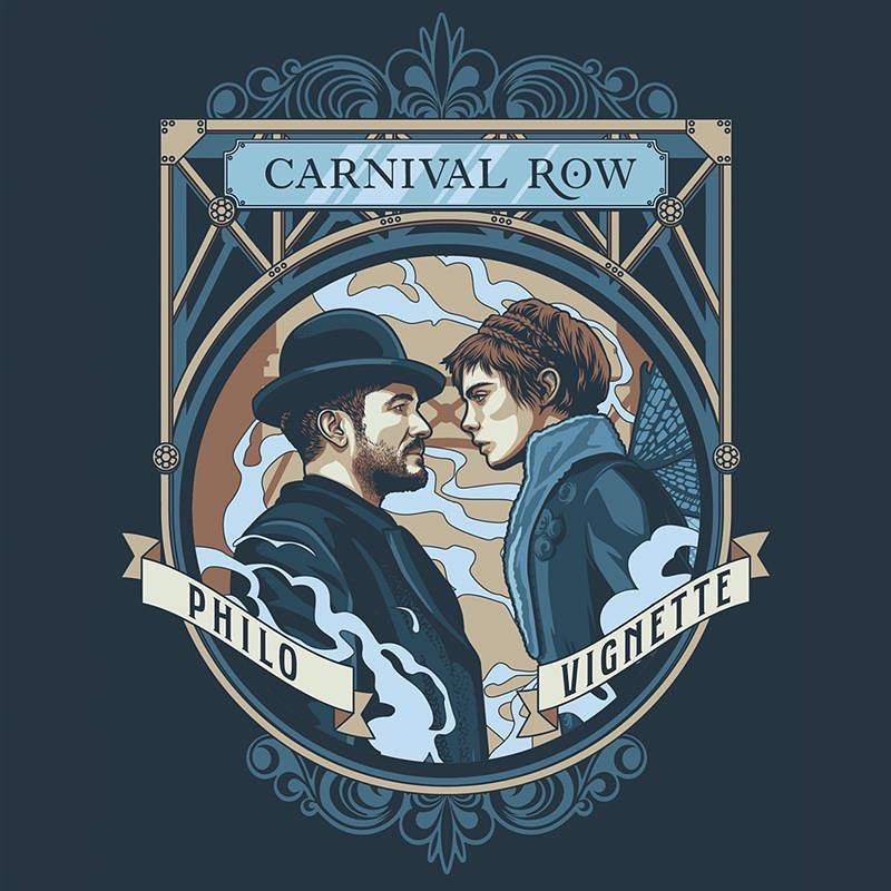 Congrats @carnivalrow on being nominated for 3 Emmy's! In light of this news we thought we'd share the Carnival Row packaging designs we created for @legendary #design #packaging #carnivalrow